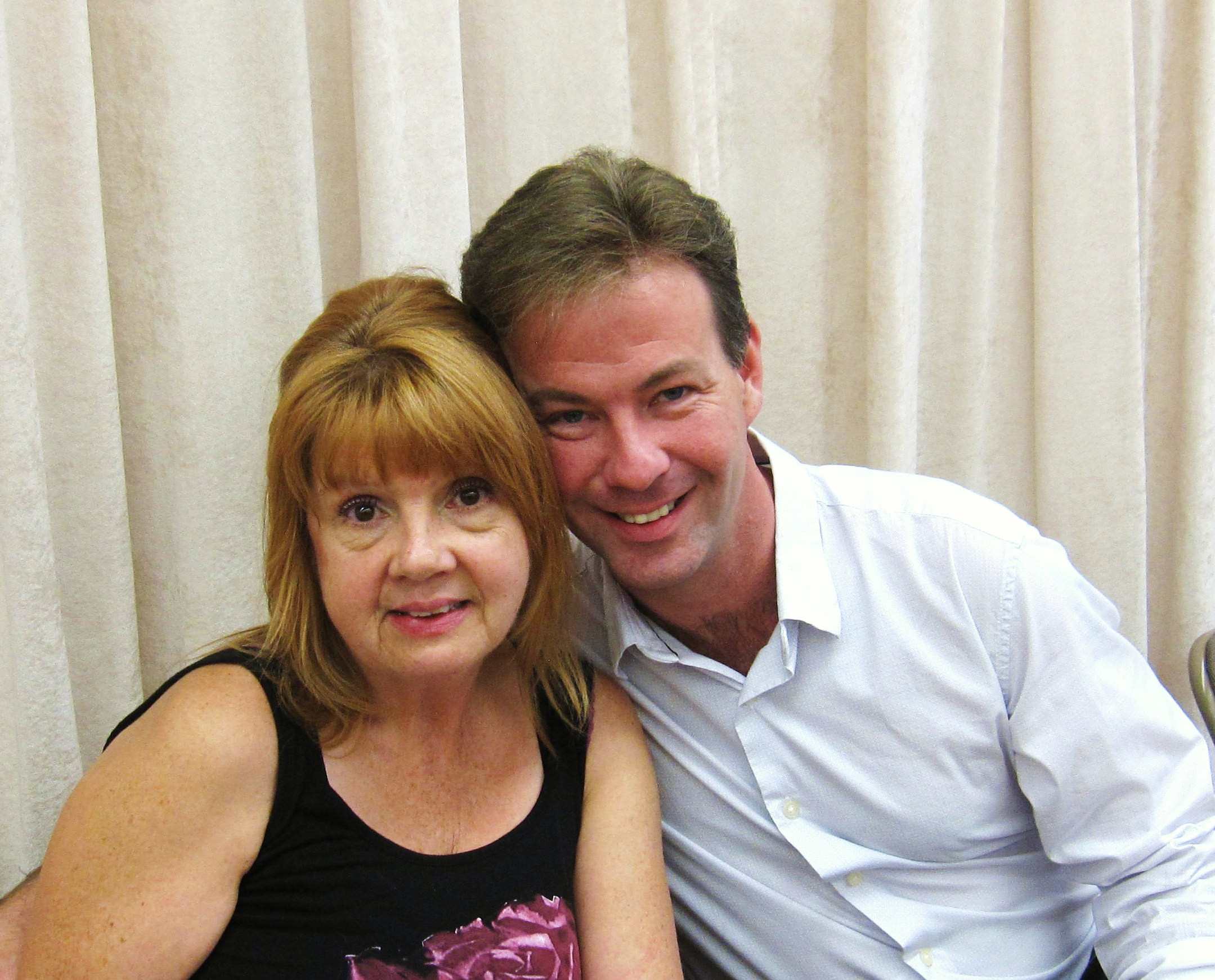 Annie Golden and Cameron Folmar at the Marry Harry reading, NYC 2011