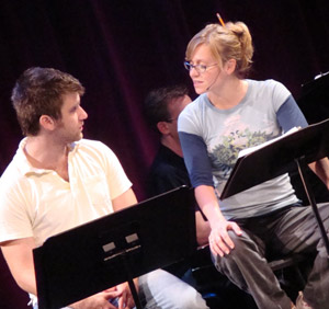Harris Doran and Megan Sikora as Leon and Jackie Grimm at The O'Neill, 2008
