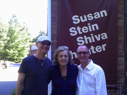 Michael and Dan with Marry Harry book writer Jennifer Robbins, New York Stage & Film, 2011