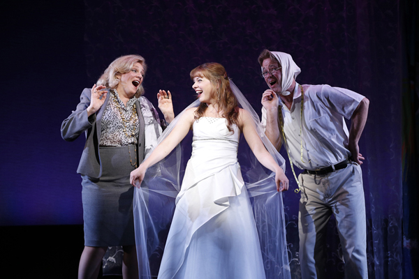 "Jane Summerhays, Jillian Louis, and Cameron Folmar perform ""Almost"" in Marry Harry, NYC 2013"